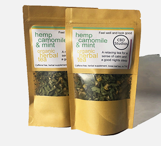 hemp tea, organic herbal tea