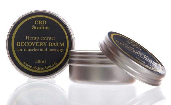 CBD balm, massage balm, CBD Studios