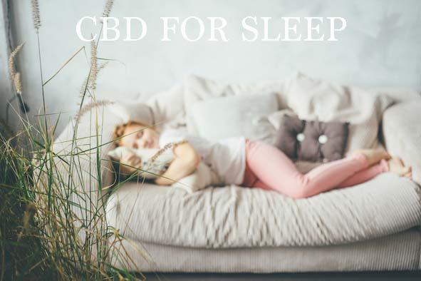 CBD FOR SLEEP, CBD Studios